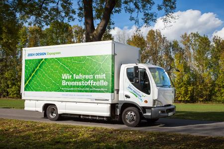 Zeeh Design Testfahrzeug 7,5 t LKW im Einsatz
