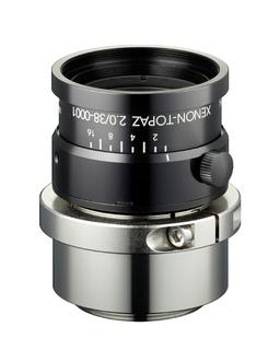 "High-resolution Schneider-Kreuznach Xenon-Topaz lenses for 1.1"" sensors"