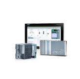 Kopf der Fertigungslinie ist der PC-basierte ET -200SP Open Controller mit dem S7-1500 Software Controller