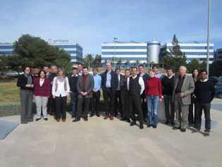 Picture above: NanoOnSpect partners during the General Assembly Meeting at Aimplas, Valencia, March 2012