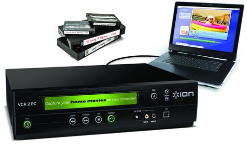 VCR 2 PC von ION Audio rettet alte Videos