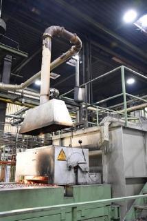 In Produktionsumgebungen wie hier in einer Härterei zur Metallverarbeitung mit Temperaturen bis zu 70°C müssen die Leuchten extrem hitzebeständig sein