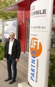 Harald Kuhnle, Geschäftsführer der Kuhnle GmbH Arbeitsbühnen, Fellbach