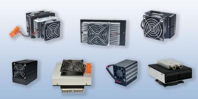 Thermoelectric cooling assemblies actually defined