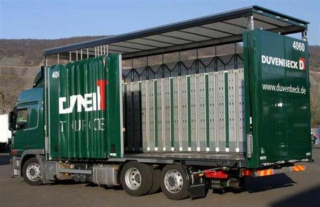 ORTEN's neuer SafeServer Mega-Swap ... neue Wechselbehältertechnik für die Automotive Logistik