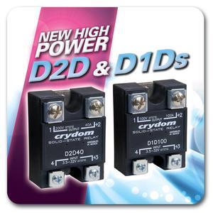 D1D und D2D Hochleistungs-halbleiterrelais von Crydom