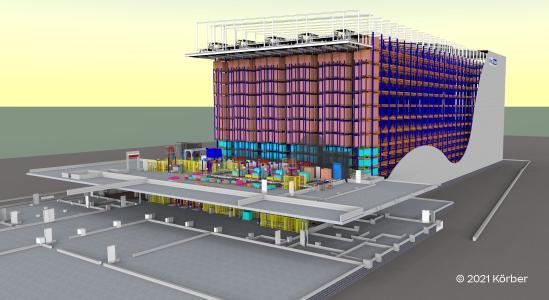 Körber errichtet erstes automatisiertes Lager auf der Insel Cebu (Philippinen) für die BigBlue Logistics Corporation