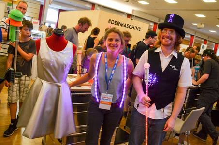 Wearables auf der Maker Faire in Hannover 2015
