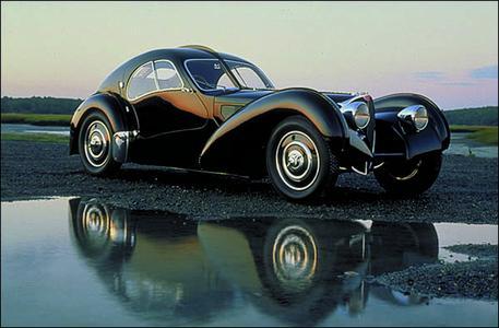 Concorso d'Eleganza Villa d'Este 2009: Bugatti Atlantic 57SC, 1938, Besitzer Ralph Lauren