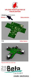 PCB-POOL® offers free 3D data for EAGLE-PCB-layout software, Beta
