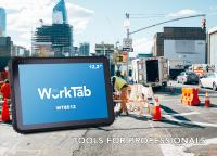 "Robust Industrial Tablet WorkTab WT8012 With 12,2"" Display"