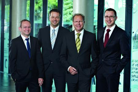 KNAPP AG management team with Eduard Wünscher