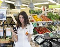 WDI-digitaler Einkaufswagen