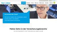 Homepage Faktor Zehn