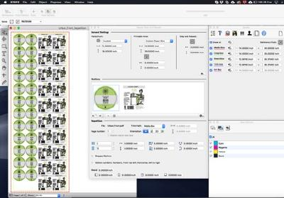 "HYBRID Software announces new PDF Layout Tool ""Stepz"" for digital packaging and labels"