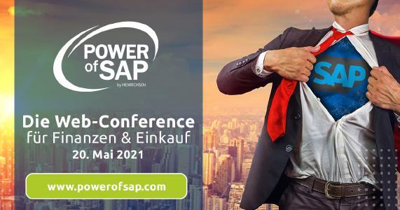 Web Conference der HENRICHSEN AG über digitale Einkaufs- & Finance-Prozesse in SAP. Bild: HENRICHSEN AG