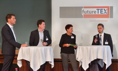 futureTEX Konsortialversammlung 15.09.2016, Bild: Wolfgang Schmidt