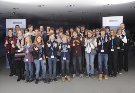 Alle Teilnehmer des 14. Regionalwettbewerbs
