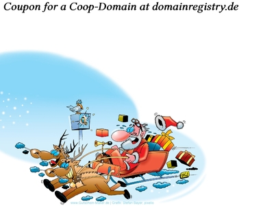 Coop-domains as a free Christmas Present