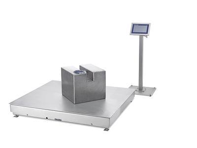 Ein Novum unter den industriell nutzbaren Wägeplattformen: Die Modelle der PBK9- und PFK9-Serie besitzen eine Eichauflösung von 30.000 Ziffernschritten.