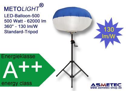 METOLIGHT LED-Ballon-Leuchte 500 W