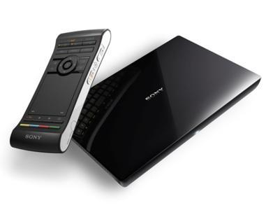 """Vermittler zwischen TV und Internet: Sony stellt neue """"Google TV"""" Produkte vor"""