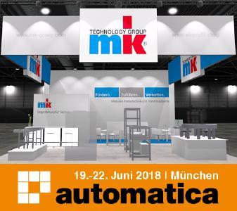 mk auf der Automatica 2018