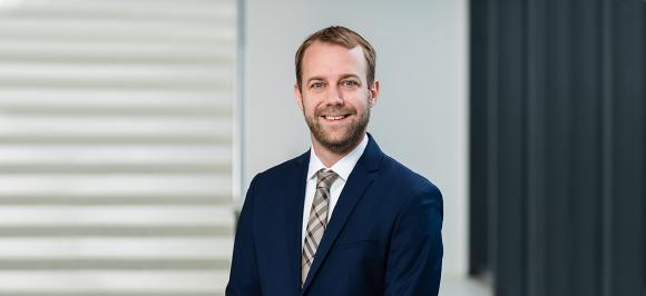 Quentin Adrian, Steuerberater und Partner der dhpg