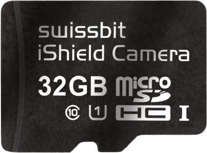 Sicherheit per Plug and Play: die microSD-Karte Swissbit iShield Camera / Bildquelle: Swissbit