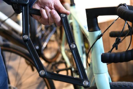 Keine Chance für Fahrraddiebe