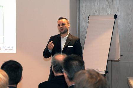 Denny Schüppel ist im Spitzencluster MAI Carbon zuständig für das Monitoring und die Evaluation der einzelnen Verbundvorhaben