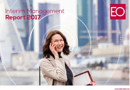 Der Interim Management Report 2017 von EO belegt den Trend zum Change Management mit Zahlen