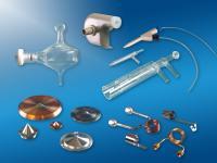 Komponenten für die Probenzufuhr bei ICP-Geräten in der Spurenanalytik