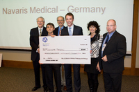 Als erstes deutsches Start-up gewinnt Navaris Medical internationalen Businessplanwettbewerb in Berkeley (USA)