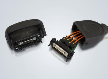 """In Verbindung mit D-Sub und Han Eco® 10A ist """"elektrisch Stecken – optisch übertragen"""" reif für die Automatisierung"""