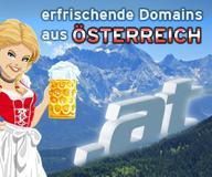 At-Domain als Vanity URL