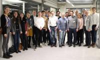 Beim Club Event trafen sich die neuen und alten Deutschlandstipendiaten und ihre Förderer zum Austausch, Bildnachweis: © Hochschule Aalen / Jana Ling