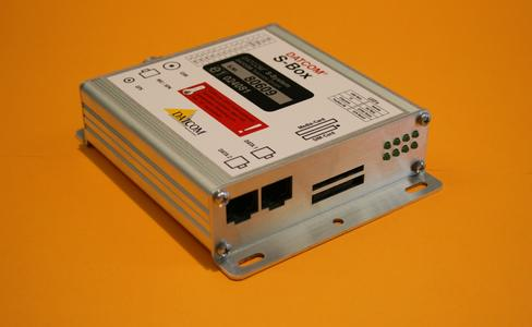 Datcom S-Box gelb