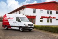 HANSA-FLEX Servicefahrzeug vor Niederlassung