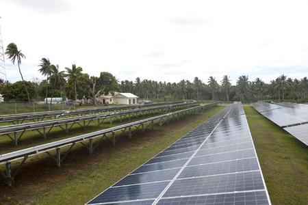 Solar Farm Vava u Tonga, Photo by Alexander Kaemmerer