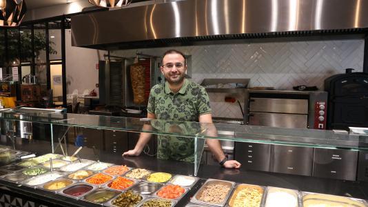 Murat Cifci, Eigentümer von Ekmekci Restaurants