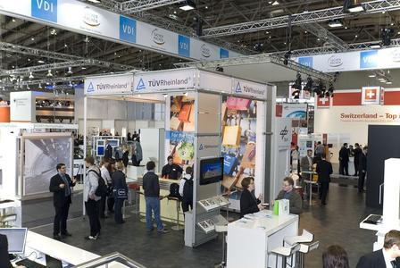 TÜV Rheinland-Stand auf der Hannover Messe International