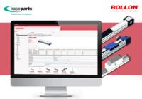 Rollon partners with TraceParts to publish its 3D catalogs of linear motion systems