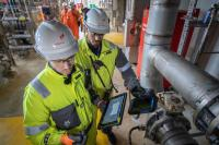 """""""Equinor expects a significant simplification and acceleration of maintenance work. Changes are much easier to implement and are more consistent with this unique master engineering database."""" / Photo: Equinor/Michal Wachucik"""