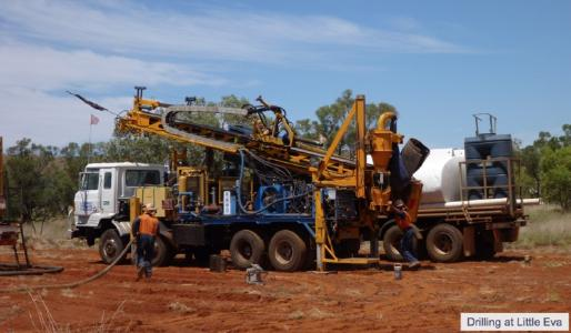 AOH-Drilling at Little Eva
