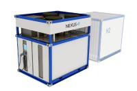 Container solution of the new NEXUS-e company for fuel cell quick charging stations