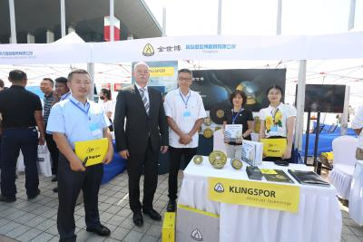 Klingspor celebrates  triumphs in China