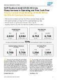 [PDF] Press Release: SAP Resilient Amid COVID-19 Crisis Sharp Increase in Operating and Free Cash Flow