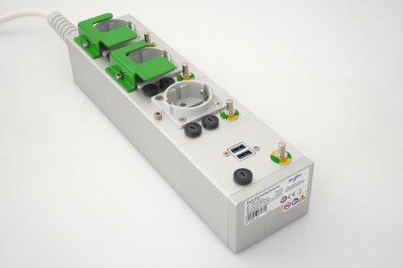 Medizinische Mehrfachsteckdose MEDX plus USB