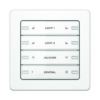Mit Schaltern und Tastern aus dem Programm Berker Q.1 werden im ZVE unterschiedliche Funktionen gesteuert.